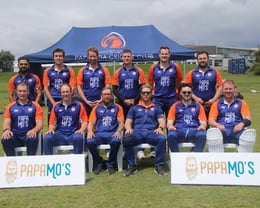 The first Papamoa Premier Team 2020