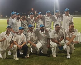 McNaughton Champs 2018/19 - Final under lights at the Bay Oval